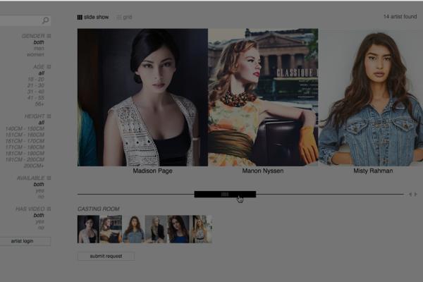 Agency Website Integration- Talent Profiles